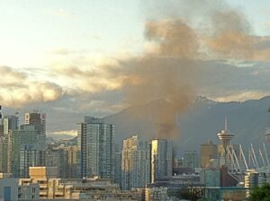 Vancouver riot fire